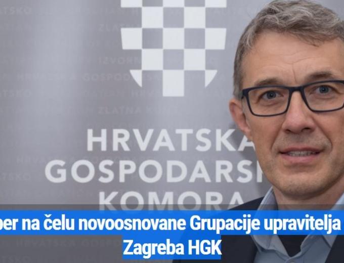 Dražen Pomper na čelu novoosnovane Grupacije upravitelja zgrada grada Zagreba HGK